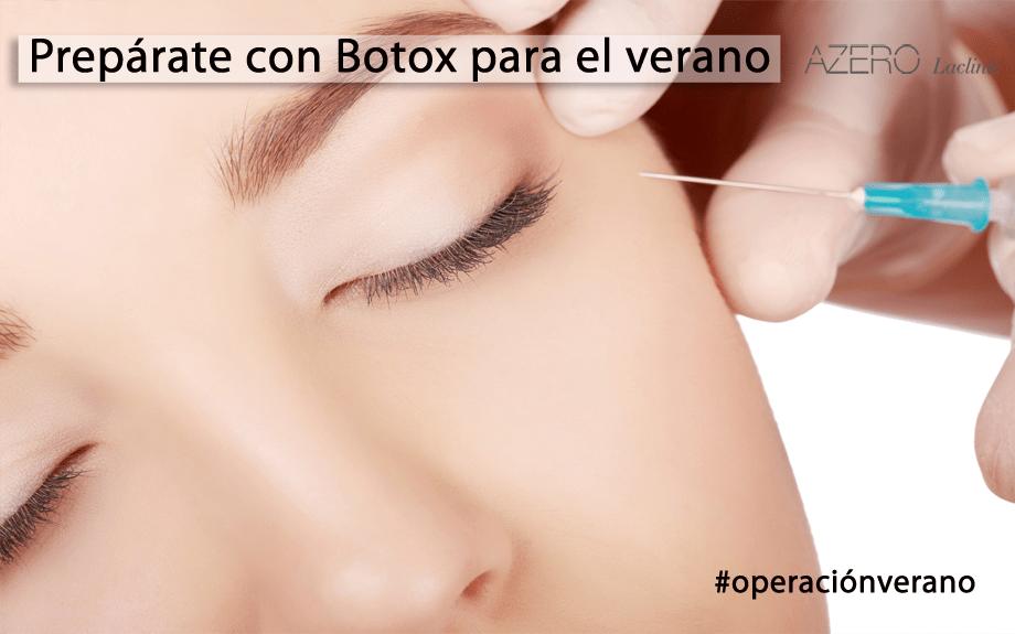 Prepárate con Botox para el verano