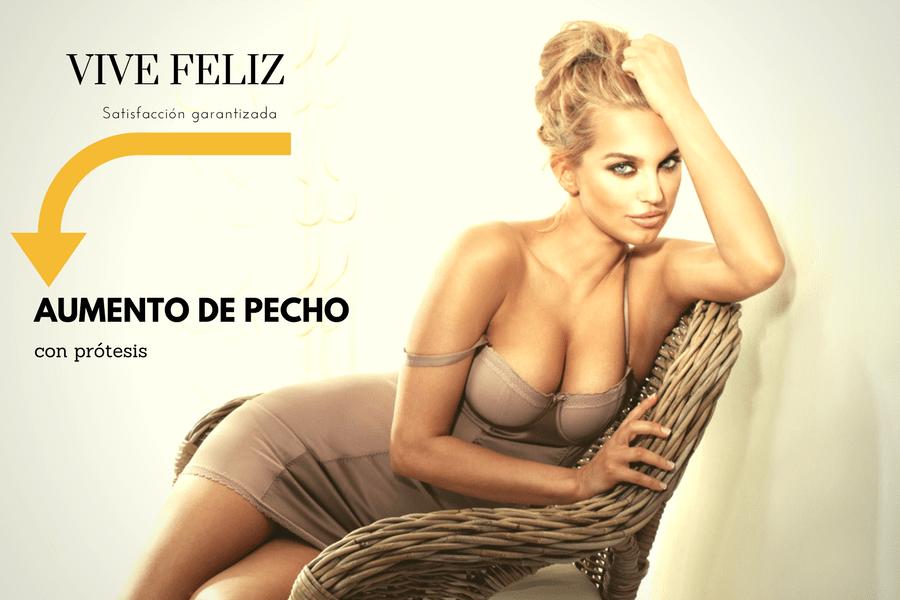 VIVE FELIZ, AUMENTO DE PECHO CON PRÓTESIS EN TENERIFE